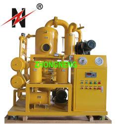 Estágio duplo altamente eficiente sistema de purificação do óleo isolante de vácuo para venda