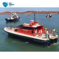 19m Roue en aluminium militaire Pilote maison bateau de travail de patrouille de sauvetage de patrouille