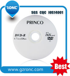 上の販売4.7GB 16XブランクPrinco DVD-R