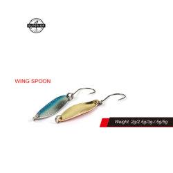 Cucchiaio artificiale dell'ala di richiamo di pesca
