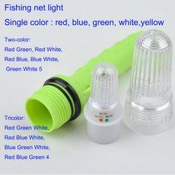 Indicatore luminoso dello stroboscopio & indicatore luminoso a rete da pesca illuminata, indicatore luminoso infiammante impermeabile del mare dello stroboscopio del LED