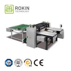 K18 Cortadora longitudinal de la junta de papel con precisión de 0,1mm.