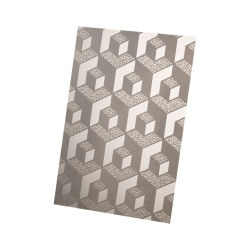 Banheira de vender 201 Etch de aço inoxidável para elevador decorativas e levante o painel de chapa de aço inoxidável