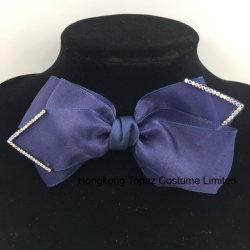 Uomini del Brooch del nodo di Bowtie del merletto e legame di arco di cerimonia nuziale di affari di modo della signora Formal Necktie (J43)