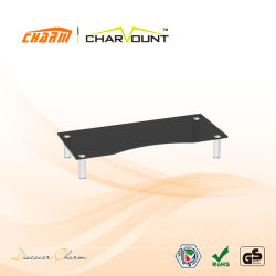 Laptop-Standhalter aus Glas (CT-CDS-14B/W)