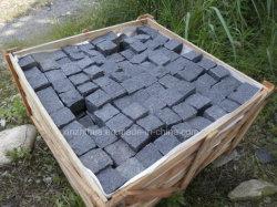 [غ684] سوداء بازلت حجارة راصف رصيف/[كبّلستون] منظر طبيعيّ/حديقة/درب خارجيّة يرصف/حجارة قراميد