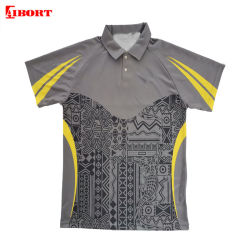 Aibort OEM Custom Print Kurzarm Sublimation Polyester Poloshirt (L-PL-11)