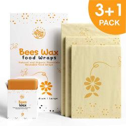 FDA en de Duurzame Opnieuw te gebruiken van de Bijenwas LFGB Omslag van de Opslag van het Voedsel