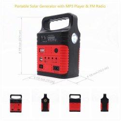 Светодиодный индикатор аварийной световой сигнализации солнечной энергии на 4 цветов фонарем освещения с помощью FM AC/входной солнечной энергии