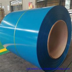 Il colore ha ricoperto l'acciaio galvanizzato del materiale da costruzione in bobina