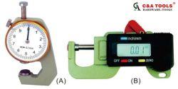Calibro di spessore elettronico di micrometro di Digitahi