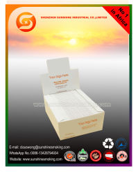 Documento di rotolamento di legno bianco di formato di Superking per il servizio della Nigeria
