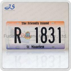 St. Maarten Nummerplaat