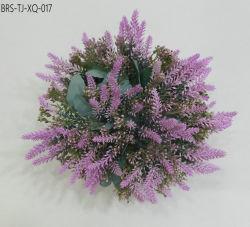 Comercio al por mayor el vástago de la Lavanda flor artificial simulación Bouquet ramo para la decoración del hogar
