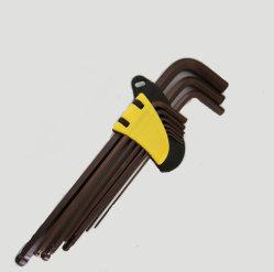 Hardware stabilito Bronze della chiave Hex della sfera degli strumenti S2 della mano