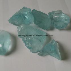 Décoration de bon marché haut de vendre la roche concassée Pierre de verre