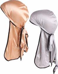Protezione di seta musulmana dell'onda del poliestere del Bandana unisex su ordinazione all'ingrosso del Beanie