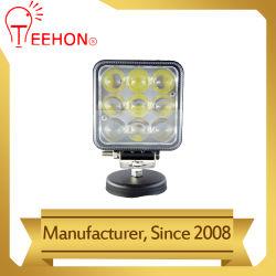 4Dレンズが付いている正方形27W LEDの点作業ランプ