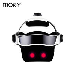 Mory 2020 전문가 조정가능한 디지털 진동 헤드 & 눈 안마 헬멧 지원 Dropshipping 맨 위 마사지 기계