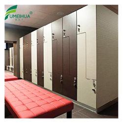 Wasserdichter Vertrags-lamellenförmig angeordnetes ändernder Raum-Schließfach für Sauna