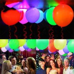 Globo de LED de luz para la boda, fiesta de cumpleaños de vacaciones de Navidad