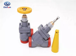 Cámaras Frigoríficas de refrigeración industrial sistema de refrigerante de amoníaco de conexión de soldadura a tope tope Válvula de parada de la válvula de retención