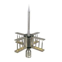 雷防止装置電光保護システムのステンレス鋼の避雷器の避雷針