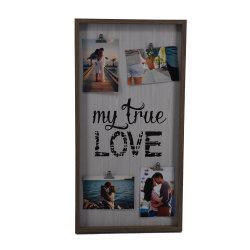 Moldura Fotográfica de plástico rústico de amor para a promoção