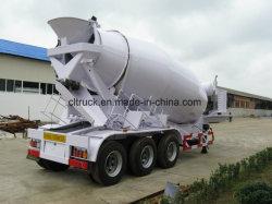 3 Achsen mit tragbarem Betonmischer für Dieselmotoren, Lkw-Anhänger zum Verkauf