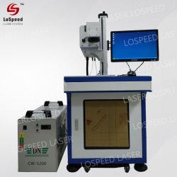 machine de marquage au laser CO2 30W/gravure au laser CO2 pour le cuir, caoutchouc, papier
