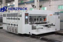 Automatische gewölbte Karton-PappeFlexo Drucken-Maschine