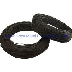 Китай хорошие цены высокое качество металлической проволоки поверните связей/колпачок клеммы втягивающего реле черного цвета витой провод