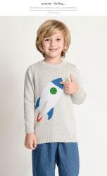 Sweater van de Jongens van de herfst en van de Winter de Nieuwe om Hals die de Kleding van Buitenlandse Kinderen stikken