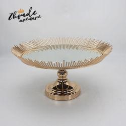 صينية مجوهرات علبة مرآة أوروبية عقد صينية تخزين مرآة منزل الديكور