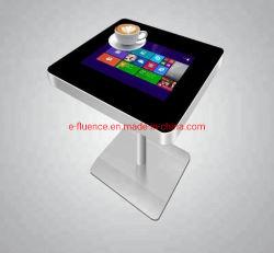 """Tamaño personalizado de 21,5"""" Android mesa de café LCD Digital Signage mesa táctil interactiva para la sala de café de la pantalla de LED"""