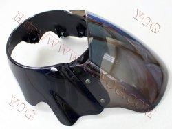 Partes do motociclo cabeça tampa Luz Carena De Faro Mascara BM150 Ybr125 Apache160