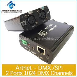 2 Artnet - DMX -8/4/2/1ポートDMX伝達コントローラ