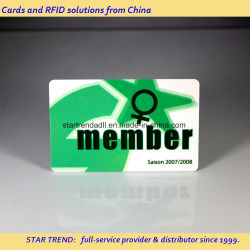멤버십 카드용 RFID PVC 카드 T5577 스마트 카드