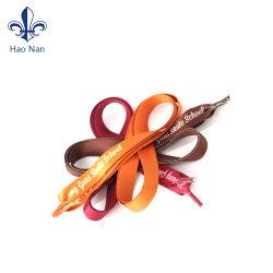 Faire de l'impression sur tissu Silkcreen Logo Shoelace pour caisson de promotion