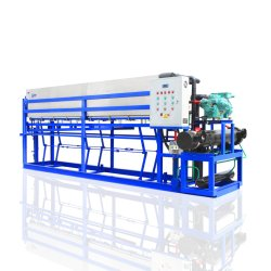 CE Aprobado Máquina de Bloque de Hielo 5 Toneladas/día de Capacidad para Plantas de Hielo