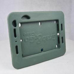 Diseño de logotipo personalizado de la fábrica China espuma EVA en el servicio de moldeo por inyección Inyección de espuma de goma EVA