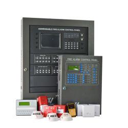 Sistema di segnalatore d'incendio di incendio indirizzabile collegato del pannello di controllo