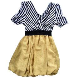 Verwendetes kleidendes Gebrauchtkleidung-Seide-Material