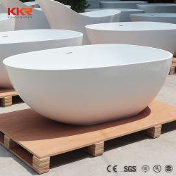 Casa de banho de design italiano Banheira banheira em pedra de resina superfície sólida