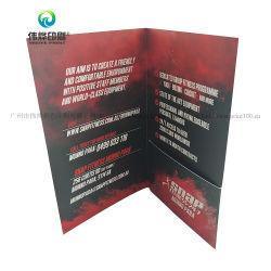 كتيب/نشرة إعلانية/كتيب/كتيب/طباعة بطاقات بريدية