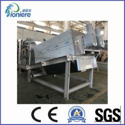 Automatische Friktions-reinigenabwasser-Behandlung-Klimaklärschlamm-entwässernmaschinen-Schrauben-Filterpresse für verschiedenen Klärschlamm