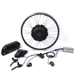 Greenpedel Juego de ruedas de bicicleta eléctrica de 1000W 48V Motor sin escobillas Hub