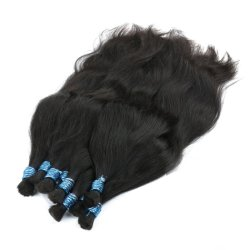 24 بوصة 100% من البشر شمع آلة الشعر الضخمة جعل ريمي مستقيمة لا توجد حزم Weft الطبيعية التي تضفى على الشعر