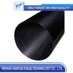 8000mm de longueur personnalisée du tube en fibre de carbone de grande taille