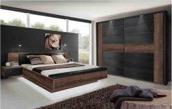 2019 Noz moderno Hotel Casa de cama tamanho King Pequeno Melamina Mobiliário de quarto
